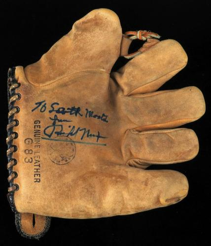 Rare President Richard Nixon Signed Autographed Vintage Baseball Glove PSA DNA