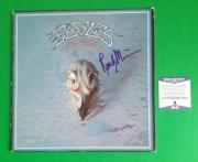 RARE - RANDY MEISNER SIGNED THE EAGLES GREATEST HITS LP ALBUM BAS COA psa jsa