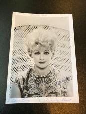 Rare Vintage 1960's Lucille Ball Signed Original Studio Photo