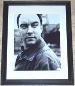 RARE VINTAGE HUGE SIGNATURE Dave Matthews Signed Autographed 11x14 Photo JSA COA