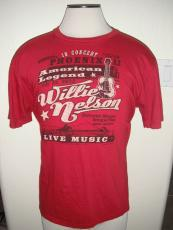 Rare Willie Nelson Limited 1 of 42 July 2012 Phoenix XL Red Concert Show Music