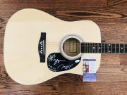 Rascal Flatts (3) Levox, Demarcus & Rooney Signed Acoustic Guitar Jsa Coa V72044