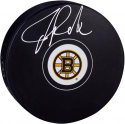 Tuukka Rask Boston Bruins Autographed Hockey Puck - Mounted Memories