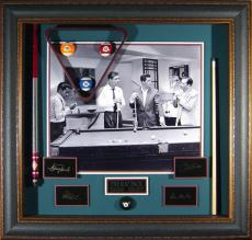 The Rat Pack - Billiards Wall Decor - Sammy Davis Jr., Dean Martin, Frank Sinatra