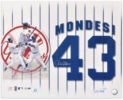 "Raul Mondesi New York Yankees Autographed 16"" x 20"" Collage Photograph - Mounted Memories"