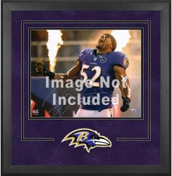 Baltimore Ravens Deluxe 16'' x 20'' Horizontal Photograph Frame with Team Logo - Mounted Memories
