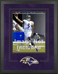 Baltimore Ravens Deluxe 16'' x 20'' Vertical Photograph Frame with Team Logo - Mounted Memories