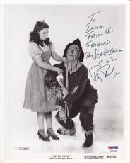 Ray Bolger (d1987) Signed 8x10 Photograph Autographed Wizard of Oz Photo PSA DNA