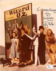 Ray Bolger Jsa Coa Hand Signed Wizard Of Oz 8x10 Photo Authenticated Autograph