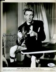Ray Bolger Jsa Signed 8x10 Photo Authentic Autograph