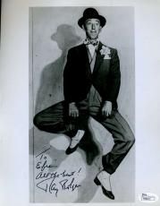 Ray Bolger Jsa Signed 8x10 Photo Authenticated Autograph