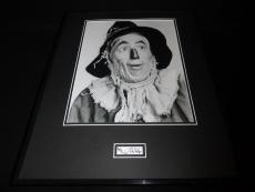 Ray Bolger Signed Framed 16x20 Photo Display Wizard of Oz Scarecrow B