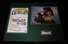 Ray Bolger Signed Framed 16x20 Photo Poster Set Wizard of Oz Scarecrow