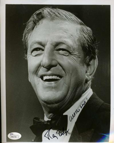 Ray Bolger Signed Jsa Certed 8x10 Photo Authenticated Autograph