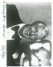 Ray Bolger Wizard Of Oz Jsa Authenticated Signed 8x10 Photo Autograph
