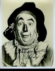 Ray Bolger Wizard Of Oz Jsa Signed 8x10 Photo Autograph