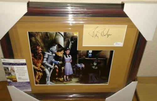 Ray Bolger Wizard Of Oz Rare Signed Autographed 13x16 Matted Framed Jsa Coa A