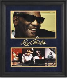 Ray Charles Framed 2-Photographs Collage-Limited Editon of 100