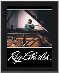 CHARLES, RAY  SUBLIMATED PHOTO PLAQUE (10x13 BOARD)