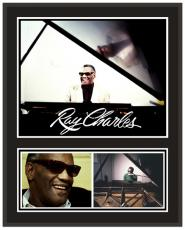 Ray Charles Sublimated 12x15 Player Plaque