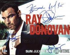 Ray Donovan (Devin Bagley, Jon Voight +5)Signed 11X14 Photo BAS A09817