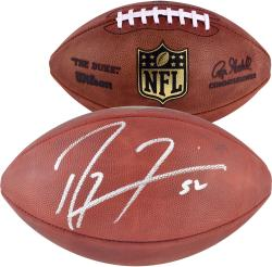 Baltimore Ravens Ray Lewis Autographed Football