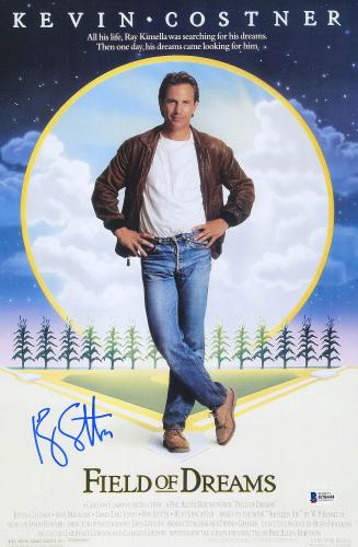 """Ray Liotta Autographed 12"""" x 18"""" Field of Dreams Movie Poster - BAS COA"""