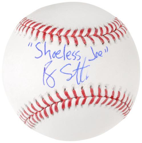 Ray Liotta Autographed Field of Dreams Baseball W/ Shoeless Joe Inscription - BAS COA