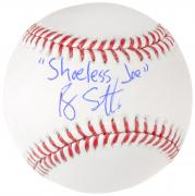 Ray Liotta Autographed Field of Dreams Baseball W/ Shoeless Joe Inscription - BAS COA