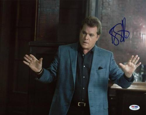 Ray Liotta Killing Them Softly Signed 11X14 Photo PSA/DNA #W11826