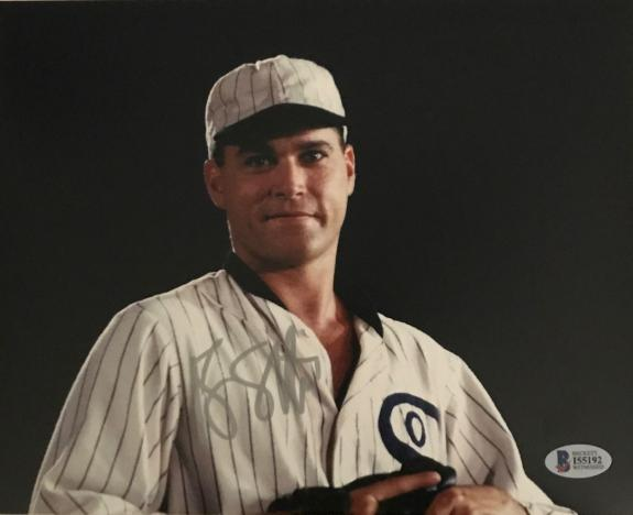 RAY LIOTTA Signed Field of Dreams White Sox 8x10 Photo Autograph BAS COA