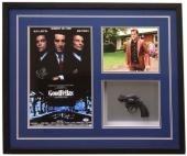 Ray Liotta Signed Framed Goodfellas Movie Poster Prop Gun Collage PSA