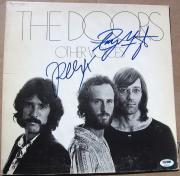 Ray Manzarek Robby Krieger signed The Doors Other Voices LP Album Cover PSA/DNA