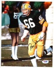 Ray Nitscke Signed Photo 8x10 Autographed Packers PSA/DNA W20583