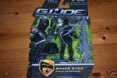 Ray Park  autographed GI Joe Snake Eyes Figure