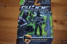 Ray Park  autographed GI Joe Snake Eyes Figure B