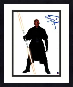 """RAY PARK Signed Autographed STAR WARS """"DARTH MAUL"""" 8x10 Photo BECKETT BAS D39136"""