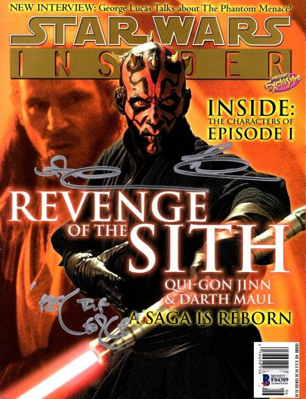 """RAY PARK Signed Autographed Star Wars """"SW INSIDER"""" Magazine BECKETT BAS #F04389"""