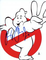 "Ray Parker Jr. Autographed 8"" x 10"" Ghostbusters Logo Photograph - Beckett COA"