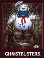 "Ray Parker Jr. Autographed 8"" x 10"" Ghostbusters Movie Cover Photograph - Beckett COA"