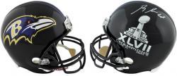 Baltimore Ravens Super Bowl Champions Ray Rice Signed Replica Helmet