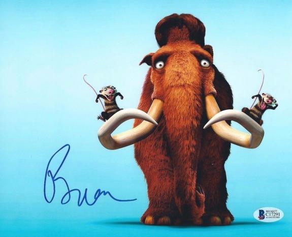 Ray Romano Signed Ice Age 8x10 Photo Beckett C17291