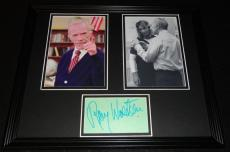 Ray Walston Signed Framed 11x14 Photo Display Fast Times at Ridgemont High B