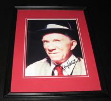 Ray Walston Signed Framed 8x10 Photo JSA My Favorite Martian The Sting