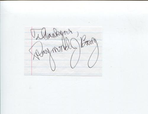 Raymond J. Berry Justified CSI NCIS The X-Files Cold Case Signed Autograph