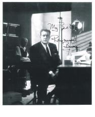 "RAYMOND BURR - Best Known for Roles in TV Dramas ""PERRY MASON"" and ""IRONSIDE"" Passed Away 1993 -  8x10 B/W Photo"