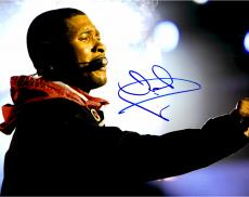 Usher Raymond Autographed 11'' x 14'' Red Jacket Photograph