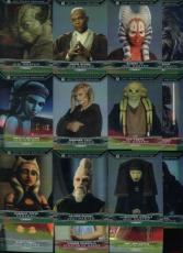 RCLot) 25 Card 2015 Star Wars Chrome Perspectives Refractor Jedi Temple Lot