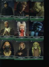 RCLot) 43 Card 2015 Star Wars Chrome Perspectives Jedi Temple Near Set Lot