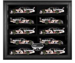 RCR 40th Anniversary 10 Car Die-Cast Wall Mounted Display Case with Black Frame - Mounted Memories